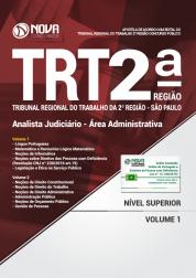 Apostila TRT-SP 2ª Região - Analista Judiciário - Área Administrativa