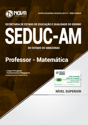 Apostila SEDUC - AM - Professor - Matemática
