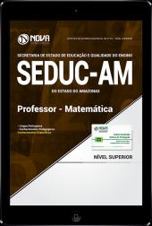 Download Apostila SEDUC - AM - Professor - Matemática (PDF)