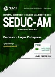 Apostila SEDUC - AM - Professor - Língua Portuguesa
