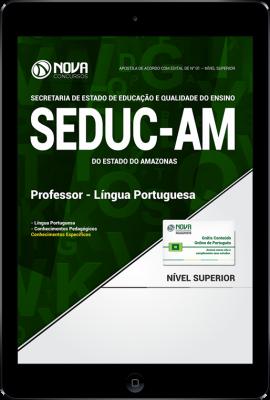 Download Apostila SEDUC - AM - Professor - Língua Portuguesa (PDF)
