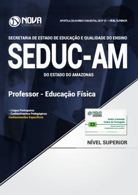 Apostila SEDUC - AM - Professor - Educação Física