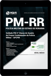 Download Apostila PM-RR - Soldado de 2ª Classe (PDF)