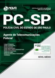 Combo PC SP - Agente de Telecomunicações Policial (Apostila Impressa + Curso Online)
