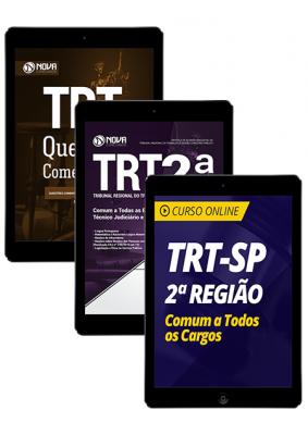 Combo TRT-SP 2ª Região - Comum a Todos os Cargos (Apostila Digital + Curso Online)