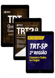 Combo TRT-SP 2ª Região - Técnico Judiciário - Área Administrativa (Apostila Digital + Curso Online)