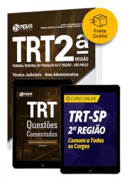 Combo TRT-SP 2ª Região - Técnico Judiciário - Área Administrativa - Frete Grátis