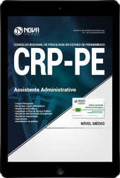 Download Apostila CRP-PE - Assistente Administrativo (PDF)