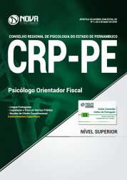Apostila CRP-PE - Psicólogo Orientador Fiscal
