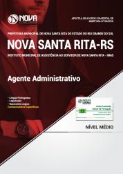 Apostila Prefeitura de Nova Santa Rita - RS (IMAS) - Agente Administrativo