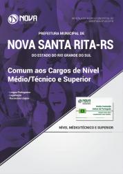 Apostila Prefeitura de Nova Santa Rita - RS - Comum aos Cargos de Nível Médio /Técnico e Superior