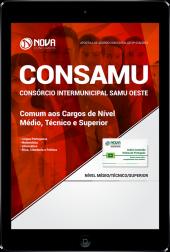 Download Apostila CONSAMU (SAMU PR) - Comum aos cargos de Nível Médio, Técnico e Superior (PDF)