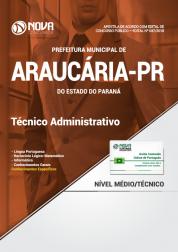 Apostila Prefeitura de Araucária - PR - Técnico Administrativo