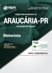 Apostila Prefeitura de Araucária - PR - Motorista