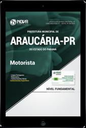 Download Apostila Prefeitura de Araucária - PR - Motorista (PDF)