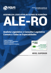 Apostila Assembleia Legislativa - RO (ALE-RO) - Analista Legislativo e Consultor Legislativo - Comum a Todas as Especialidades