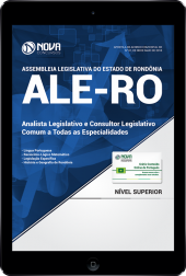 Download Apostila Assembleia Legislativa - RO (ALE-RO) - Analista Legislativo e Consultor Legislativo - Comum a Todas as Especialidades (PDF)