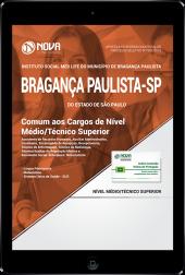 Download Apostila Instituto Social Med Life de Bragança Paulista - SP - Comum aos Cargos de Nível Médio/Técnico e Superior (PDF)