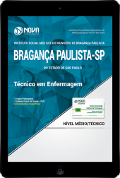 Download Apostila Instituto Social Med Life de Bragança Paulista - SP - Técnico em Enfermagem (PDF)