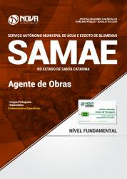 Apostila SAMAE de Blumenau - SC - Agente de Obras