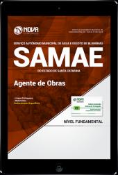 Download Apostila SAMAE de Blumenau - SC - Agente de Obras (PDF)