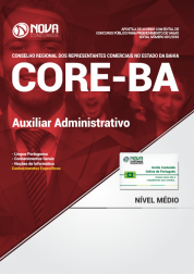 Apostila CORE-BA - Auxiliar Administrativo
