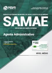 Apostila SAMAE de Blumenau - SC - Agente Administrativo