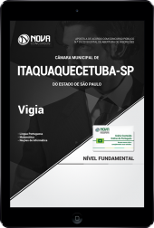 Download Apostila Câmara de Itaquaquecetuba  - SP - Vigia (PDF)