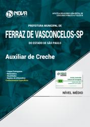 Apostila Prefeitura de Ferraz de Vasconcelos - SP - Auxiliar de Creche