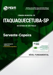 Apostila Câmara de Itaquaquecetuba  - SP - Servente/Copeira