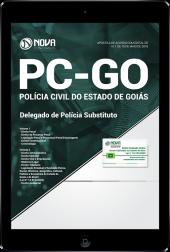 Download Apostila PC-GO - Delegado de Polícia Substituto (PDF)