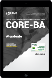 Download Apostila CORE-BA - Atendente (PDF)