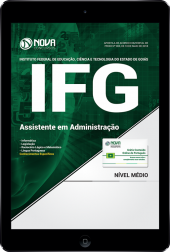 Download Apostila IFG-GO - Assistente em Administração (PDF)