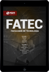 Download Apostila FATEC - Vestibular 2º SEM/18 (PDF)