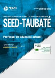 Apostila SEED de Taubaté - SP - Professor de Educação Infantil