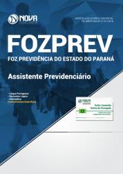 Apostila FOZPREV PR - Assistente Previdenciário
