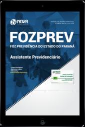 Download Apostila FOZPREV PR - Assistente Previdenciário (PDF)