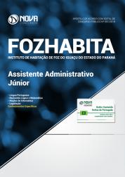 Apostila FOZHABITA PR - Assistente Administrativo Júnior