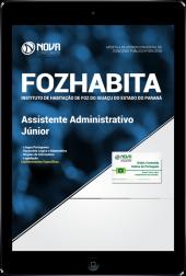 Download Apostila FOZHABITA PR - Assistente Administrativo Júnior (PDF)