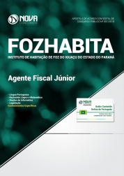 Apostila FOZHABITA PR - Agente Fiscal Júnior