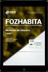 Download Apostila FOZHABITA PR - Motorista de Veículos Leve I (PDF)
