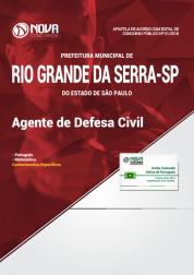 Apostila Prefeitura de Rio Grande da Serra - SP - Agente de Defesa Civil