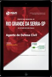 Download Apostila Prefeitura de Rio Grande da Serra - SP - Agente de Defesa Civil (PDF)