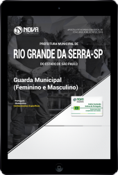 Download Apostila Prefeitura de Rio Grande da Serra - SP - Guarda Municipal (Feminino e Masculino) (PDF)