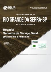 Apostila Prefeitura de Rio Grande da Serra - SP - Roçador e Servente de Serviço Geral (Masculino e Feminino)