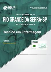 Apostila Prefeitura de Rio Grande da Serra - SP - Técnico em Enfermagem