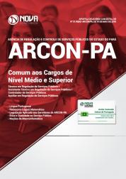 Apostila ARCON-PA - Comum aos Cargos de Nível Médio e Superior