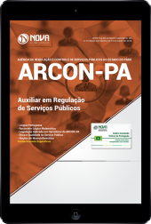 Download Apostila ARCON-PA - Auxiliar em Regulação de Serviços Públicos (PDF)