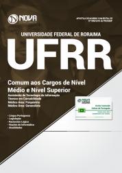 Apostila UFRR - Comum aos cargos de Nível Médio e Nível Superior