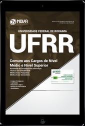 Download Apostila UFRR - Comum aos cargos de Nível Médio e Nível Superior (PDF)